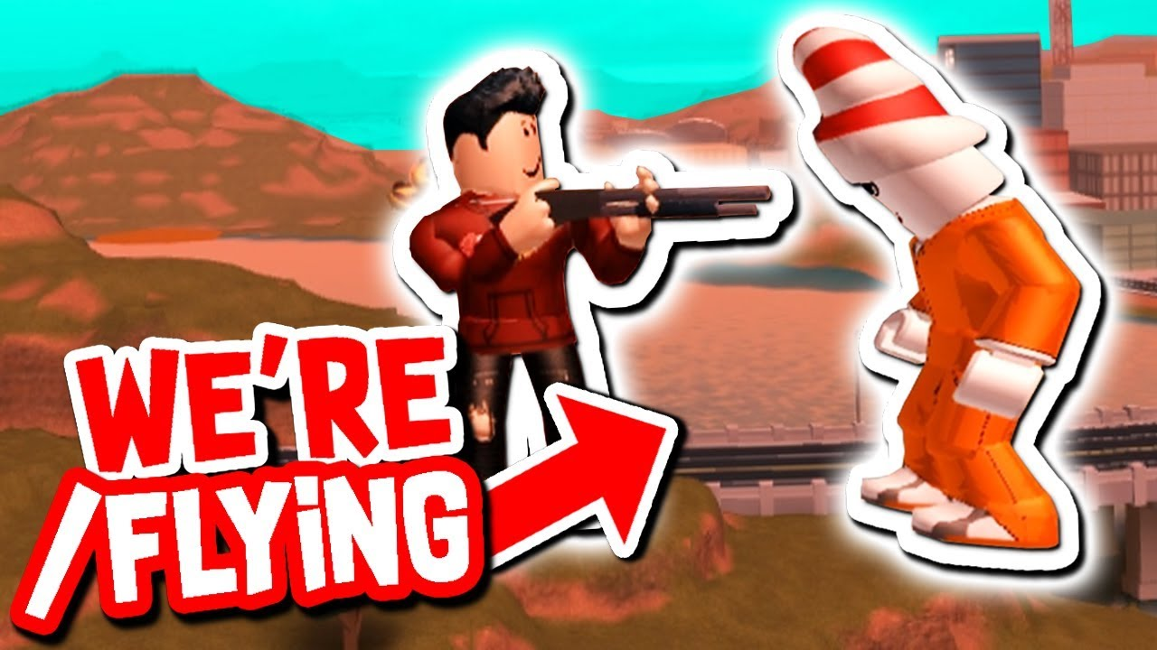 Youtuber Taught Us How To Fly Hack In Roblox Jailbreak Youtube