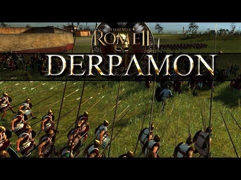 Total War Rome 2 Live Quick Battle - Pergamon vs Rome