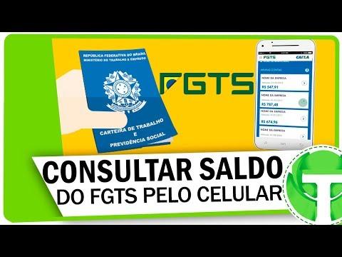 Como consultar o saldo do FGTS pelo celular
