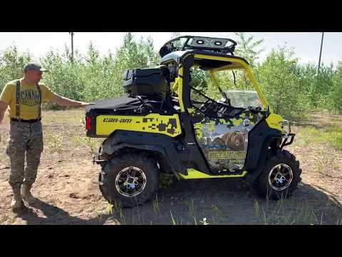 BRP Can-Am Traxter XMR – квадроцикл в комплектации для охоты: Big Game Pro By Fan Club Ltd
