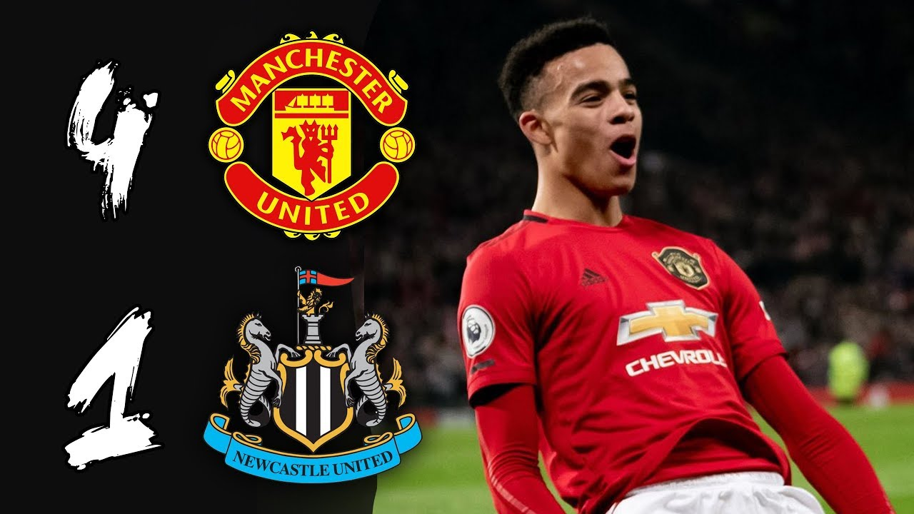 Greenwood The Real Deal Man Utd 4 1 Newcastle Youtube