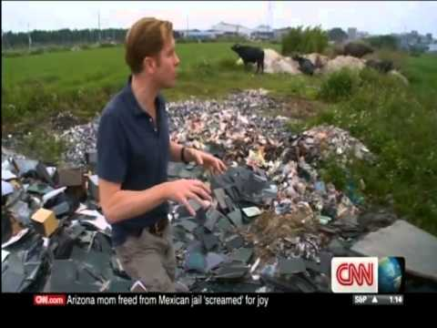 China - World's dumping ground for Electronic Waste (CNN)