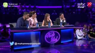 Arab Idol محمد رشاد ما بلاش اللون ده معانا الحلقات المباشرة