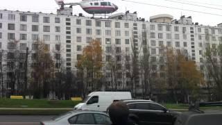 Вертолёт(Вертолёт непонятно, что делает на Севастопольском проспекте напротив Центра планирования семьи и репродук..., 2011-10-28T23:38:16.000Z)