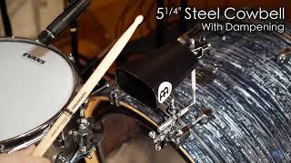 "MEINL Percussion - 5¼"" Steel Cowbell - SL525-BK"