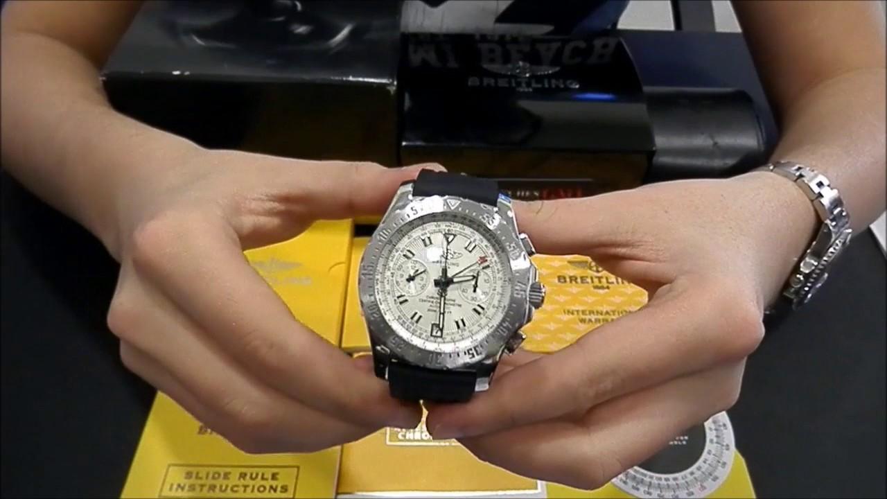 Часы breitling professional skyracer