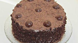 Торт Шоколадный сметанник