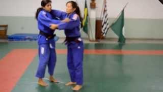 JUDO -Aprenda Uchi Mata para Yoko Tomoe (Taisabaki diagonal) com Fabiane Hukuda