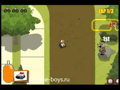 Игровое видео Кик Бутовский гонки