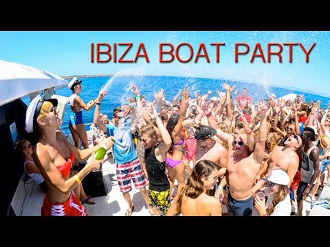 IBIZA - Boat Parties, Beaches and Champagne Showers