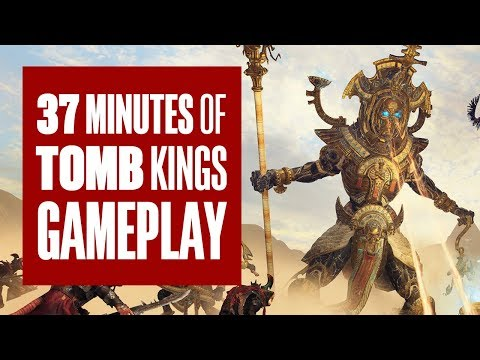 Total War: Warhammer 2 - Tomb Kings  (37 минут сражений)