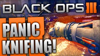 Black Ops 3 Multiplayer - PANIC KNIFING & MORE! - (New Info)