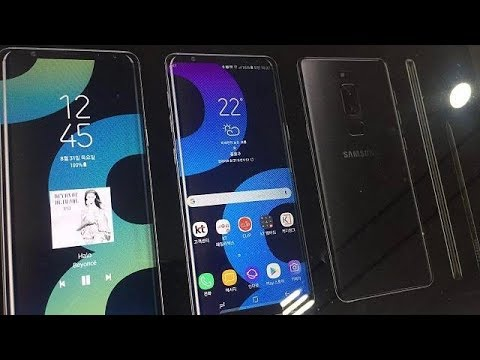 SAMSUNG GALAXY NOTE 8 REAL-LIFE IMAGES LOOK !!!