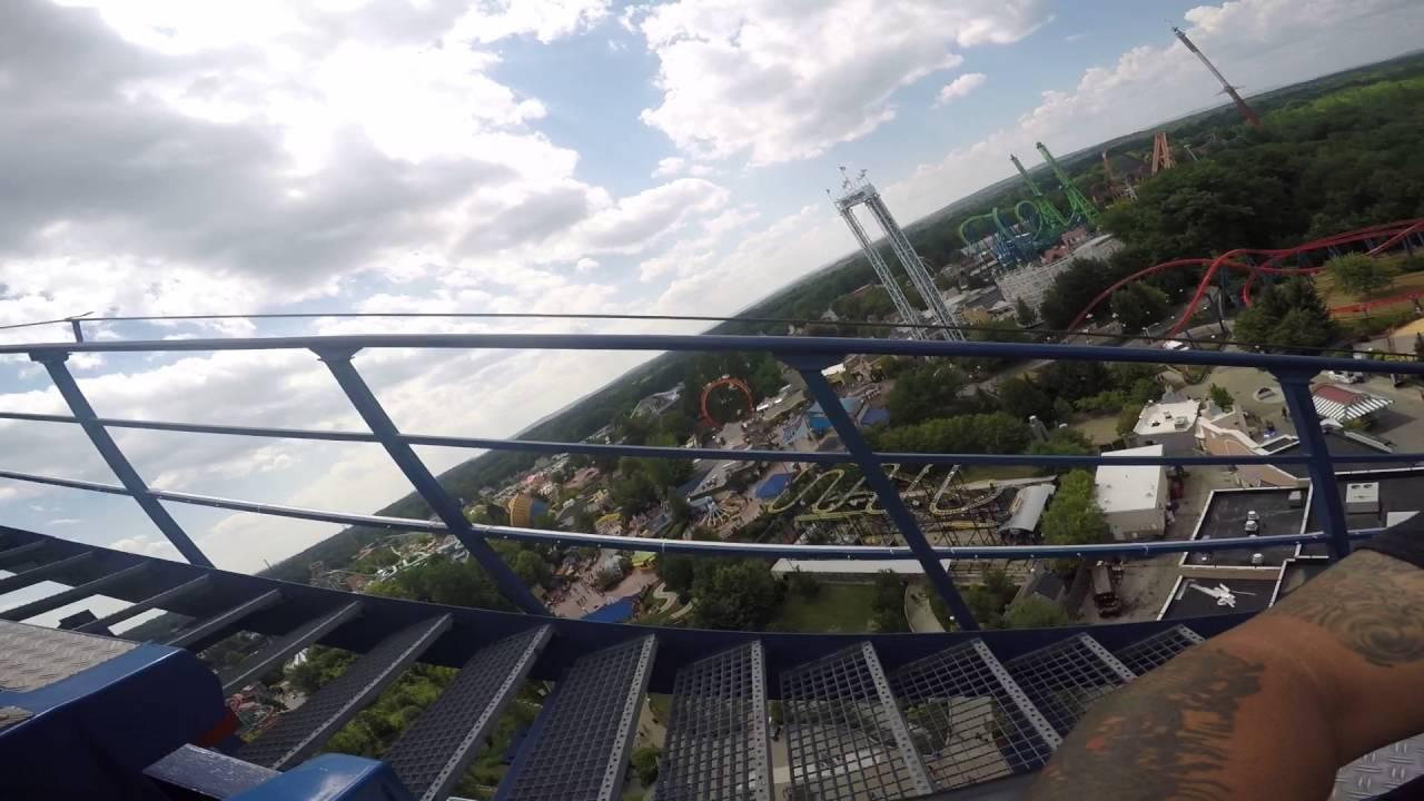 Superman Ride Six Flags Springfield Ma Youtube