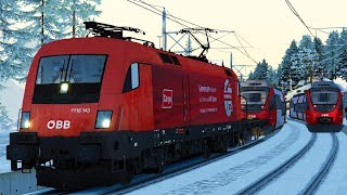 ÖBB Taurus 1116 | Regionalbahn Abschleppen | Mittenwaldbahn RSSLO | Let's Play Train Simulator 2018