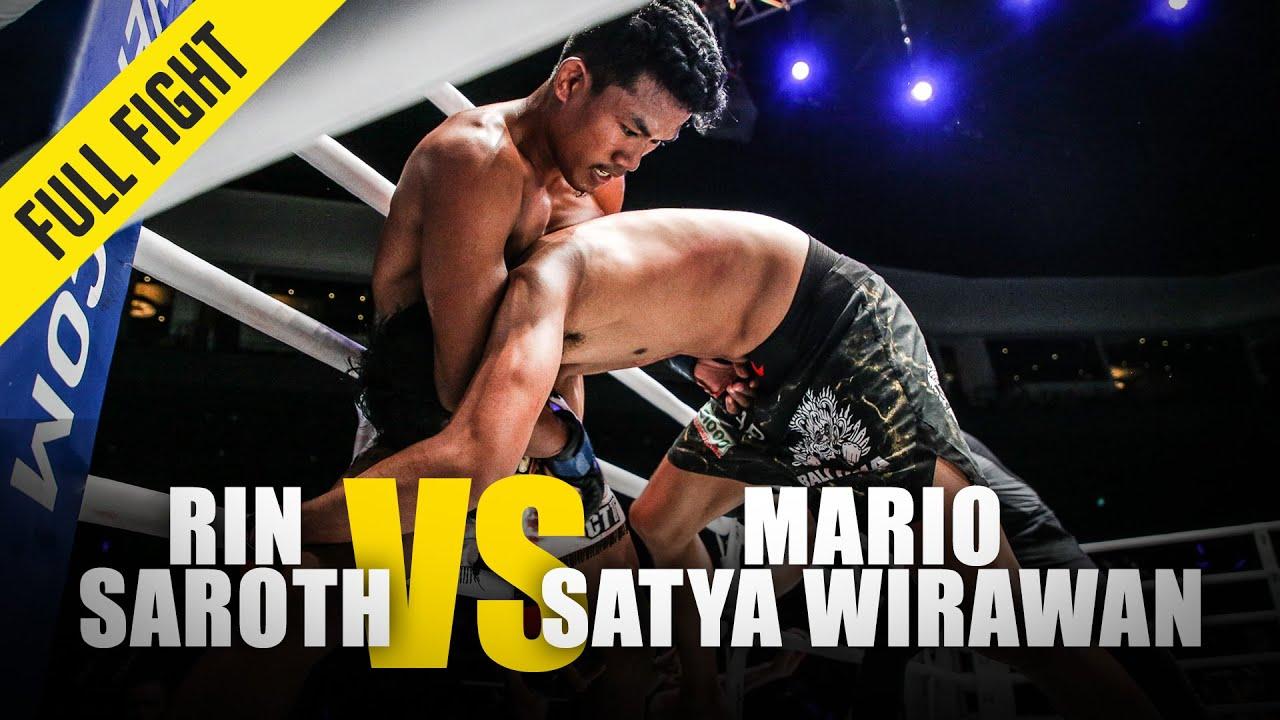 Mario Satya Wirawan vs. Rin Saroth | ONE Full Fight | June 2018