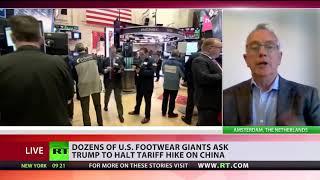 Dozens of US footwear giants ask Trump to halt tariff hike on China