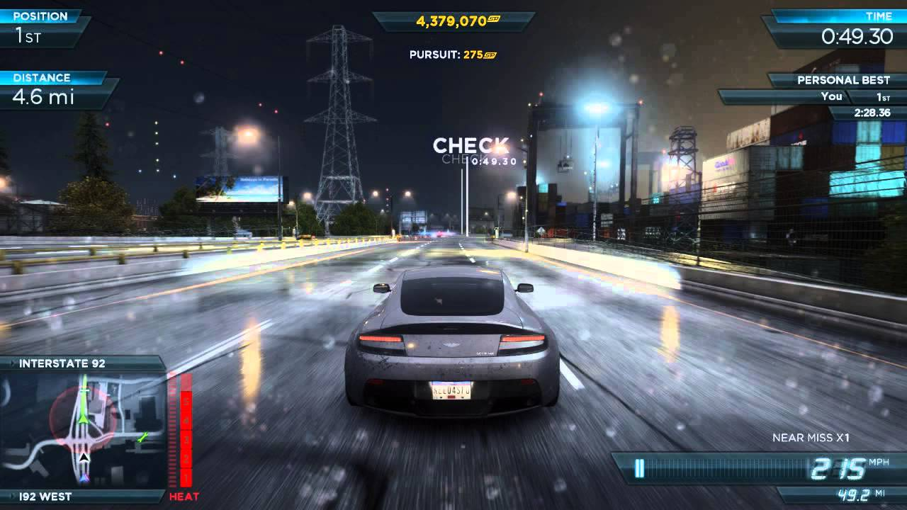Nfs Most Wanted 2012 Fully Modded Pro Aston Martin V12 Vantage