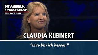 Claudia Kleinert über das Wetter Machen