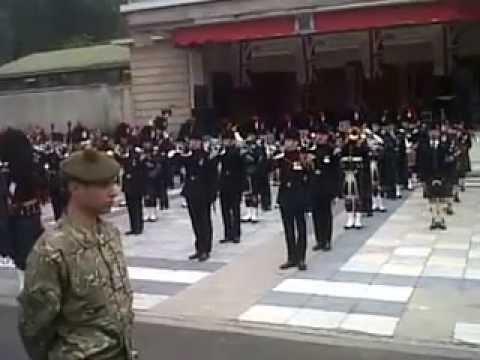 Armed Forces Day parade Princes St gardens ,Edinburgh