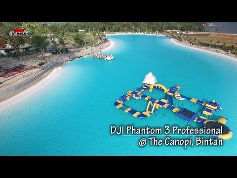 The Canopi Treasure Bay Bintan Resorts Adventure Glamping DJI Phantom 3 Professional Aerial Videos