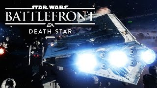 Star Wars Death Star DLC Gameplay (Space Fighter Squadron)