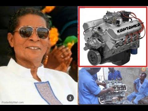 AMAZING, KANTANKA GHANA MADE V8 ENGINE MOLDING