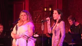"""Bonnie Milligan & Natalie Walker sing """"Dogfight / Pretty Funny"""" at Feinstein's/54 Below"""
