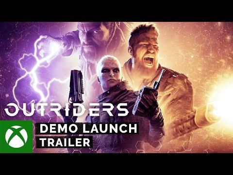 Бесплатная демо-версия Outriders теперь доступна на Xbox One и Xbox Series X | S