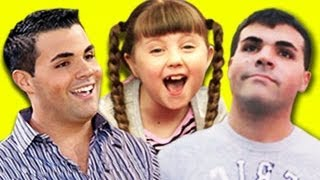 Kids React to Fake Celebrity Pranks New York City