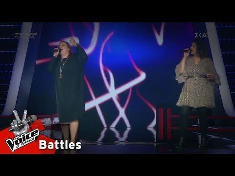 Βάλλια Ειρηναίου vs Κλεονίκη Καρανικόλα – Σου μιλώ και κοκκινίζεις   3o Battle   The Voice of Greece