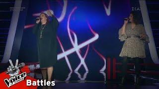 Βάλλια Ειρηναίου vs Κλεονίκη Καρανικόλα - Σου μιλώ και κοκκινίζεις | 3o Battle | The Voice of Greece