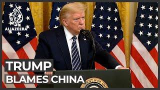Trump 'confident' coronavirus may have originated in Chinese lab