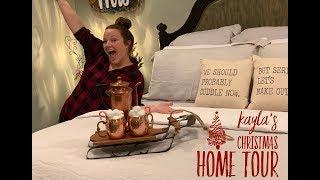 Kayla's Christmas Home Tour 2018
