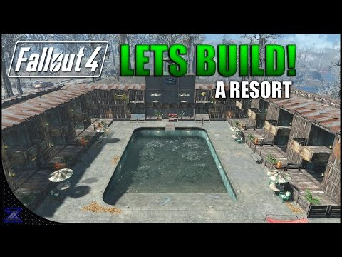 Fallout 4 - Lets Build an Apocalyptic Resort | The Slog | Settlement Construction