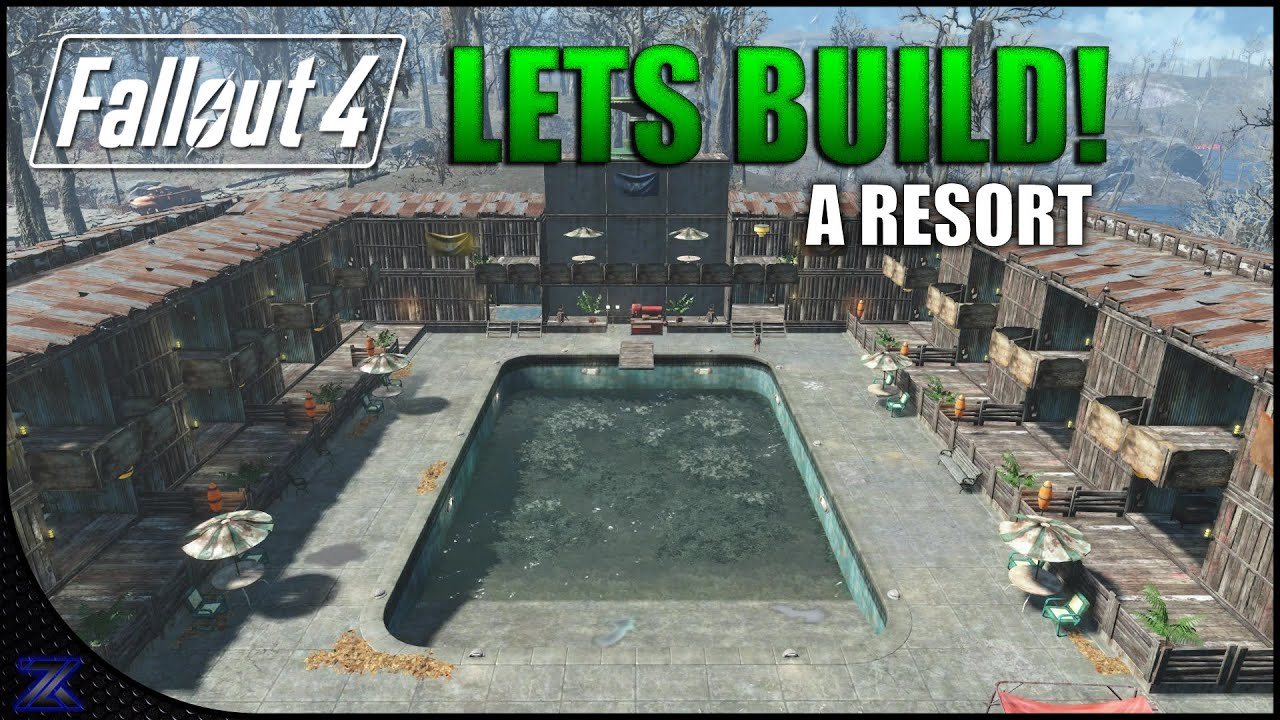 Fallout 4 lets build an apocalyptic resort the slog for Fallout 4 bedroom ideas