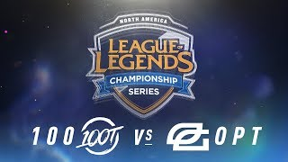 Video 100 vs. OPT - Week 1 Day 1 | NA LCS Spring Split | 100 Thieves vs. OpTic Gaming (2018) download MP3, 3GP, MP4, WEBM, AVI, FLV Juni 2018