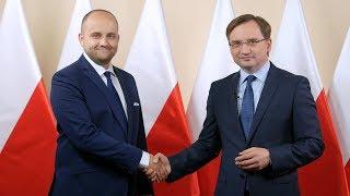 """Minister Zbigniew Ziobro: """"Proszę o oddanie głosu na Dariusza Mateckiego!"""""""