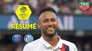 Gambar cover Paris Saint-Germain - RC Strasbourg Alsace ( 1-0 ) - Résumé - (PARIS - RCSA) / 2019-20