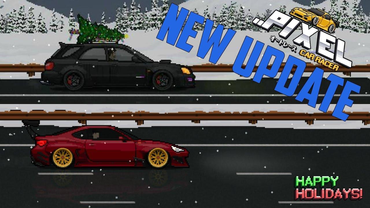new update bodykit cars spoilers more pixel car racer 1 0 52