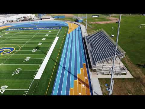Channel Islands High School New Track (Feb 2021)