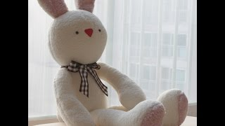 토끼인형 만들기 방법 1번째