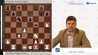 Karjakin-Kramnik, Berlin Candidates 2018 Round 9 Recap with Peter Svidler