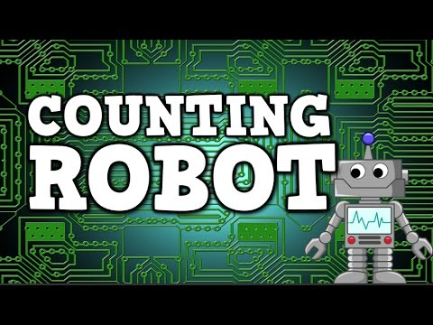 Counting Robot (counting by 2s, 5s, & 10s for kids)