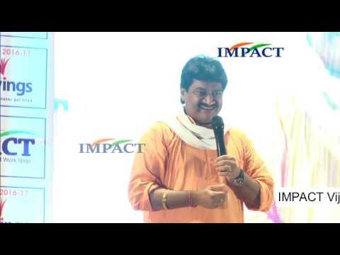 Dr. Ghazal Srinivas – An Exponent in Telugu Ghazals at IMPACT 2016
