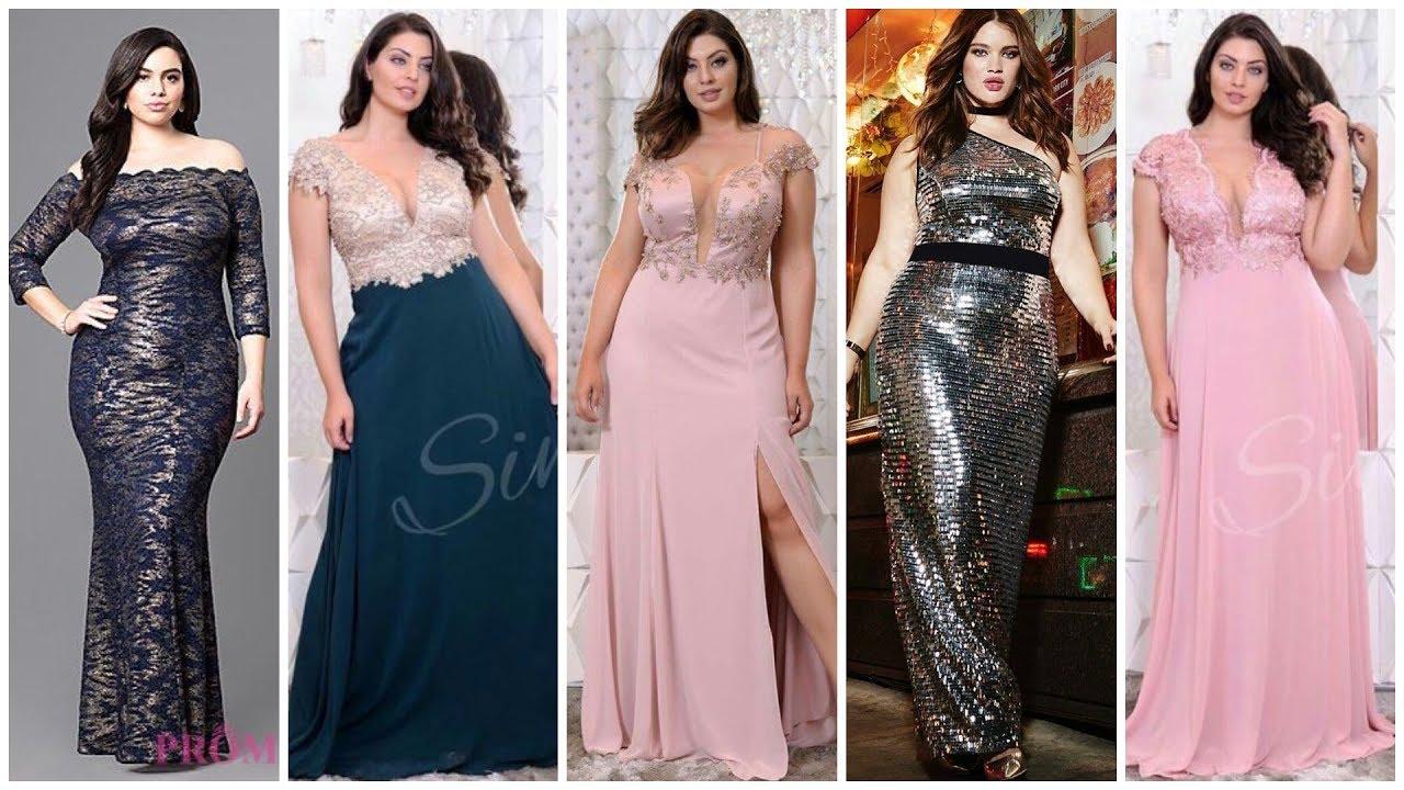 Vestidos De Moda Elegantes Para Gorditas Vestidos De Noche 2019 Moda Plus Size