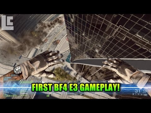 1st Battlefield 4 E3 Footage! Weapons and Squad Perks (Battlefield 4 Gameplay/Alpha/E3) E3M13
