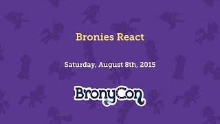 Bronies React