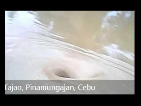 Whirlpool in Tajao, Pinamungajan, Cebu