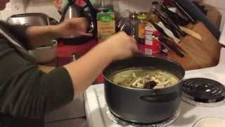 Cooking Tutorial: Creamy Triple Mushroom & Kale Vegan Soup